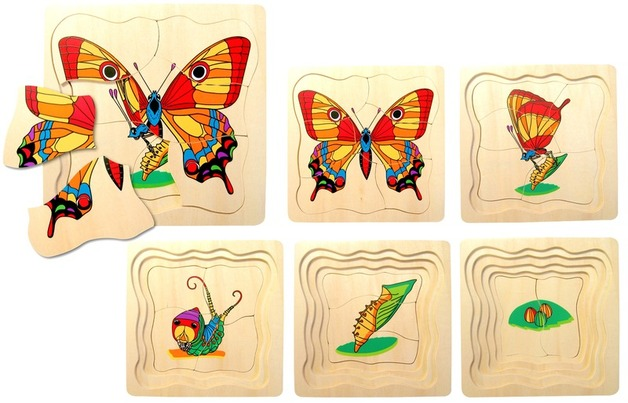Fun Factory - Butterfly Layer Puzzle