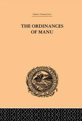 The Ordinances of Manu by Arthur Coke Burnell image