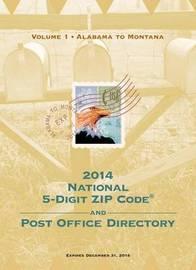2014 National Zip Code Directory by U S Postal Service