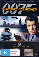 World Is Not Enough, The (007) - James Bond Ultimate Edition (2 Disc Set) on DVD