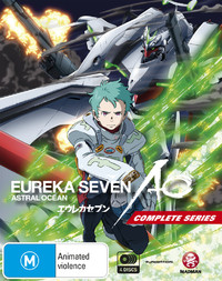 Eureka Seven Ao - The Complete Series (Limited Edition) on Blu-ray