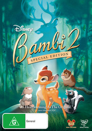 Bambi 2 - Special Edition on DVD
