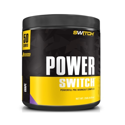 Power Switch - Powerful Pre-Workout Complex - Grape (50 Serves)