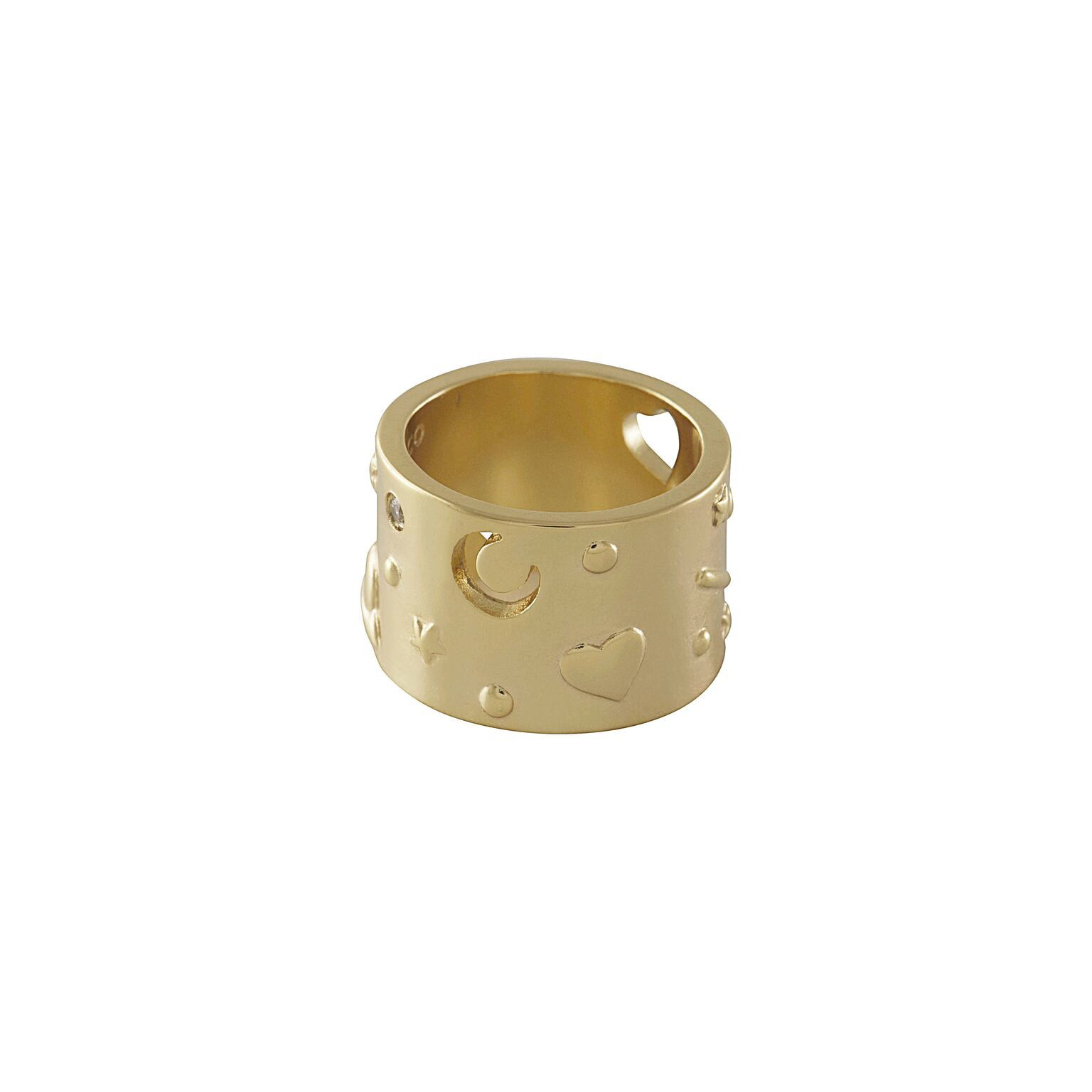 Wanderlust + Co: Aleya Gold Ring (Size 8) image