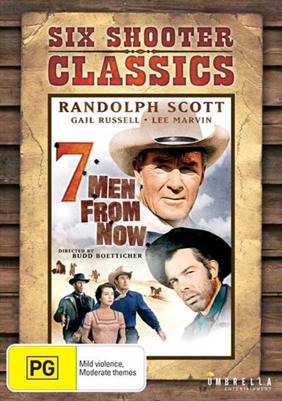 7 Men From Now (Six Shooter Classics) on DVD