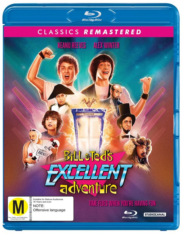 Bill & Ted's Excellent Adventure on Blu-ray