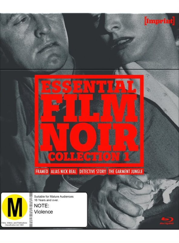 Essential Film Noir: Collection 1 (Imprint Collection #18, 19, 20 & 21) on Blu-ray