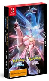 Pokemon Brilliant Diamond & Pokemon Shining Pearl Dual Pack for Switch