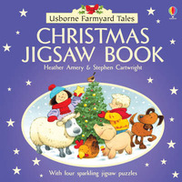 Farmyard Tales Christmas Jigsaw Book by Heather Amery image