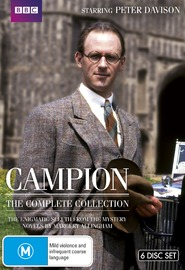Campion - The Complete Series on DVD image