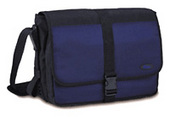 "Targus BlackTop Blue Messenger Case Up To 15.4"" Blue/Black"