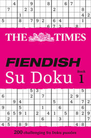 The Times Fiendish Su Doku Book 1 image