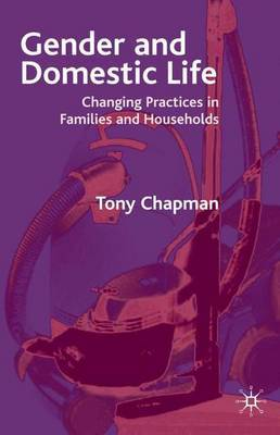 Gender and Domestic Life by Tony Chapman image