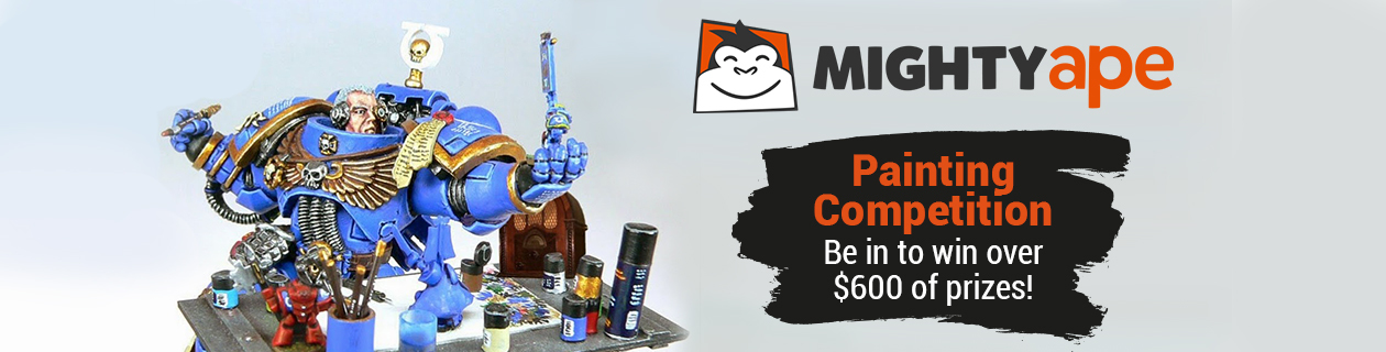 Be in to win in our 2017 Tabletop Gaming Painting Competition!