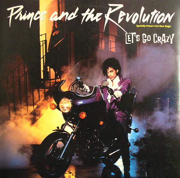 """Let's Go Crazy (12"""" LP) by Prince and the Revolution"""