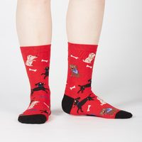 Women's - No Bones About It Crew Socks image