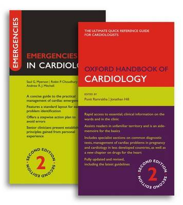 Oxford Handbook of Cardiology and Emergencies in Cardiology Pack image