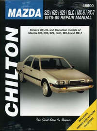 Mazda 323, 626, 929, RX7 (Including Montrose and 2000) (1978-89) by Chilton Automotive Books image
