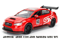 Jada 1/32 Jdm Subaru Diecast Model - (Red)