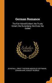 German Romance by Jean Paul