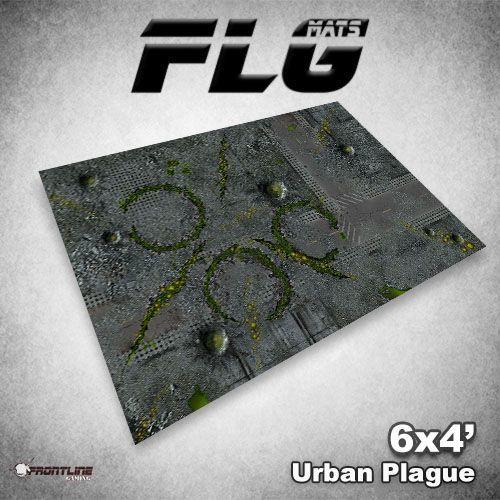 FLG Urban Plague Neoprene Gaming Mat (6x4)