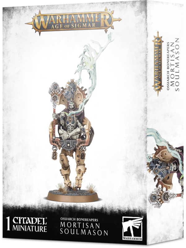 Warhammer Age of Sigmar: Ossiarch Bonereapers Mortisan Soulmason