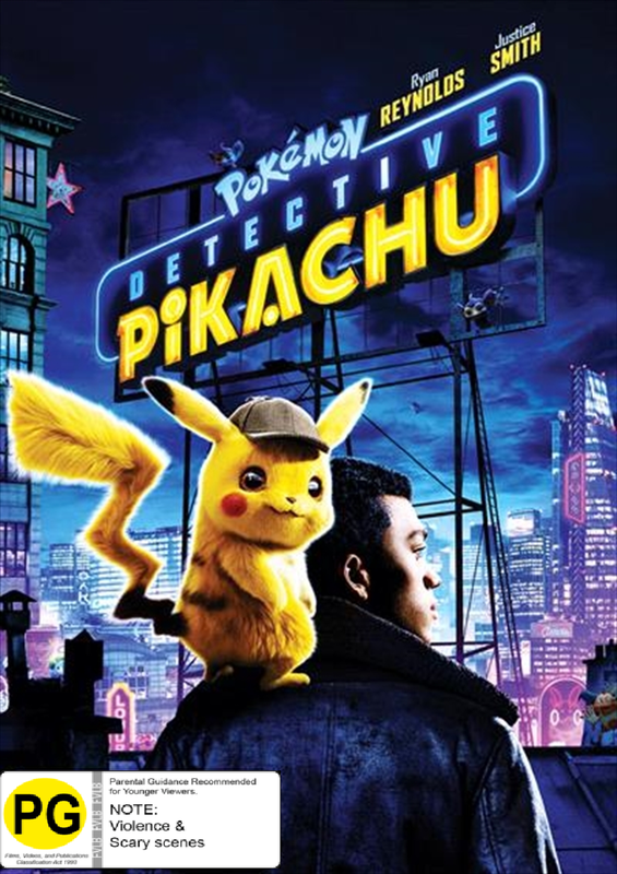 Detective Pikachu on DVD