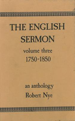 The English Sermon: v. 3: 1750-1850