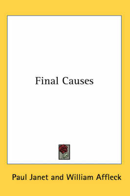 Final Causes by Paul Janet