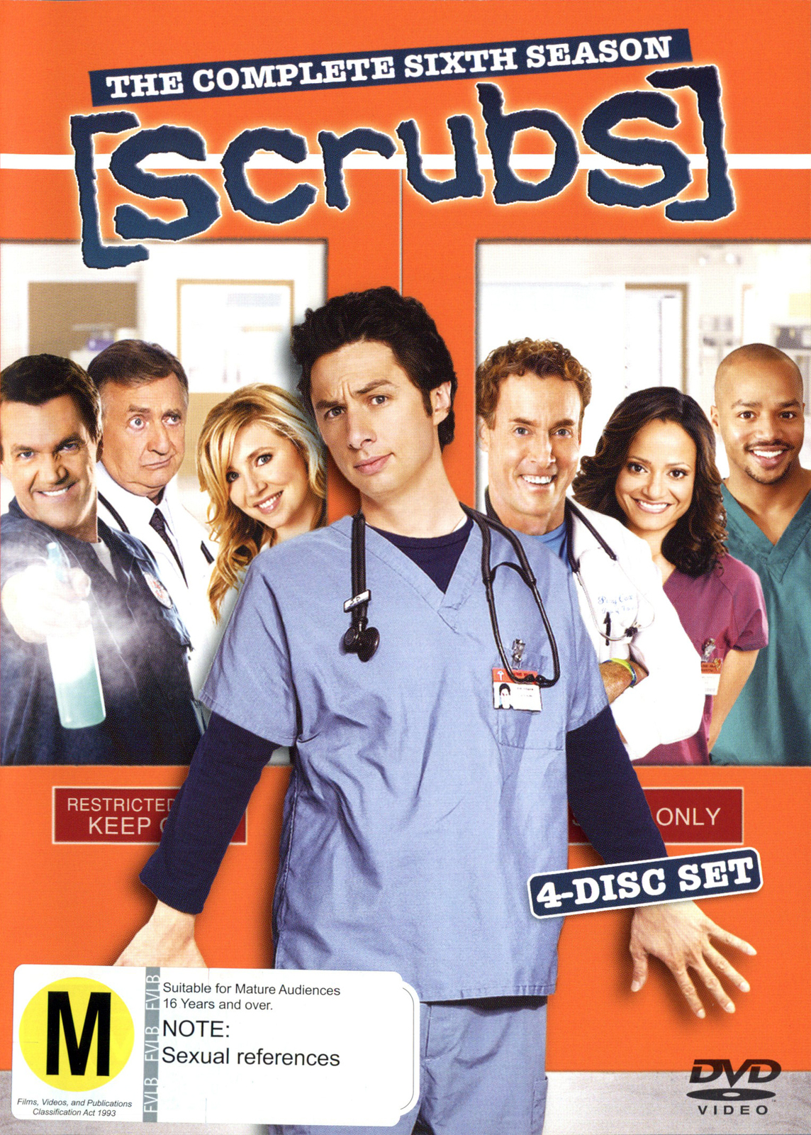 Scrubs - Season 6 on DVD image