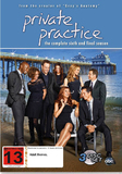 Private Practice - The Complete Sixth & Final Season DVD