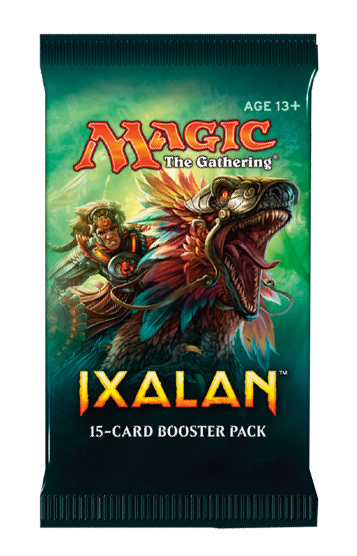 Magic The Gathering: Ixalan Single Booster Pack (15 Cards)