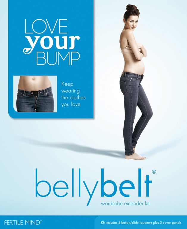 BellyBelt: Combo Kit - Denin Black & White