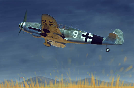 Trumpeter: Messerschmitt Bf109G-10 - 1/32 Scale Model Kit