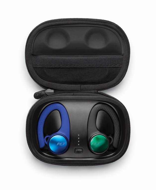 Plantronics: BackBeat Fit 3150 Earphones - Black & Blue