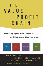 The Value Profit Chain by James L Heskett image