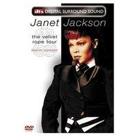 Janet Jackson - The Velvet Rope Tour - Live In Concert on DVD image