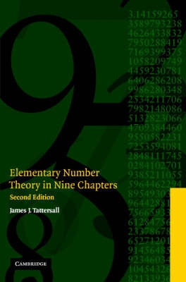 Elementary Number Theory in Nine Chapters by James J. Tattersall image