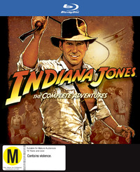 Indiana Jones - The Complete Adventures on Blu-ray