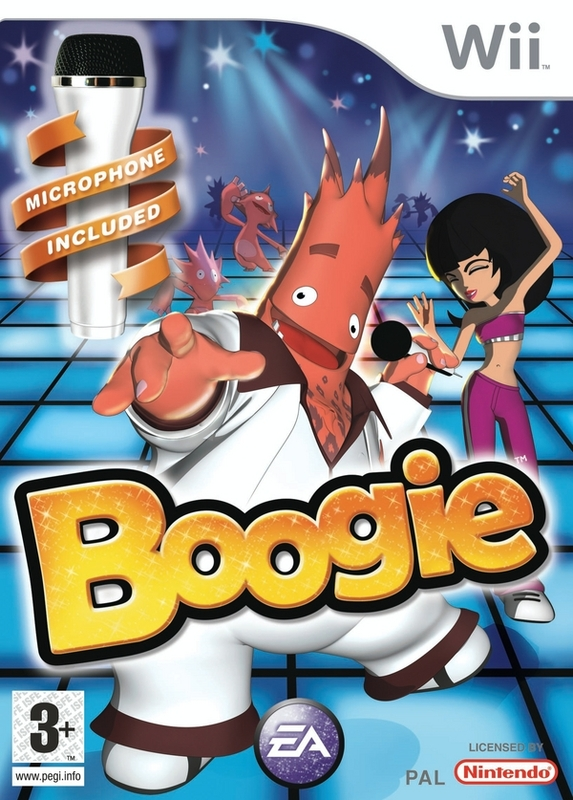 Boogie with Microphone for Nintendo Wii