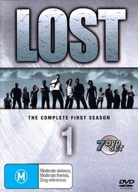 Lost - The Complete 1st Season (7 Disc Slimline Set) on DVD image