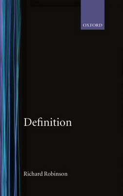 Definition by Richard Robinson