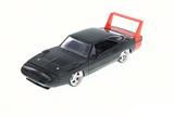 Jada: 1/24 Dodge Charger Ht Diecast Model (Black & Red)