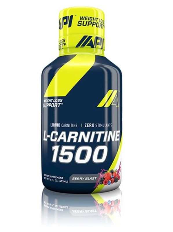 API L-Carnitine Liquid - Berry Blast (16oz)