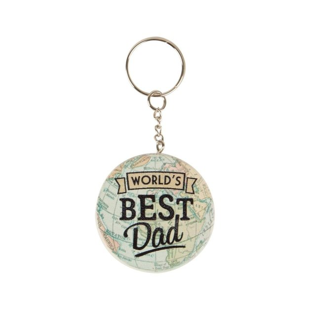World's Best Dad Keyring
