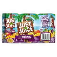 Just Juice: Tropical (6 x 250ml)