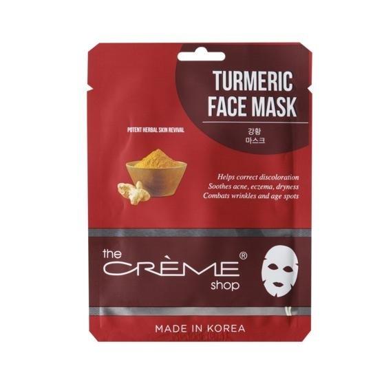 The Crème Shop Turmeric Essence Infused Facial Mask