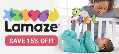 15% off Lamaze Baby Toys