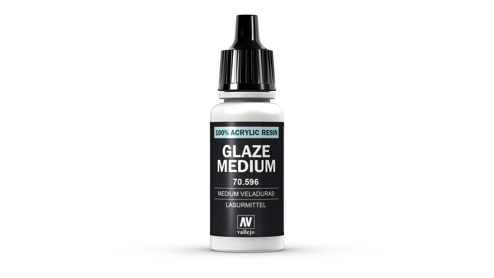 Vallejo Model Colour Medium Glaze 17ml image