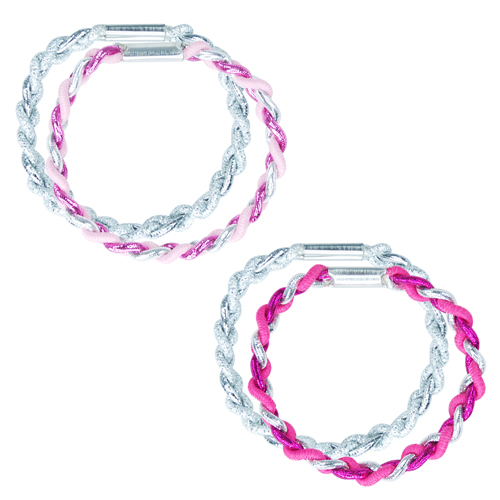 Pink Poppy: Twisted Hair Elastics - (Assorted Designs)